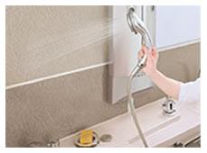 普段のお手入れは入浴後に洗い流すだけ。